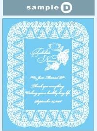結婚祝い・結婚記念に、高級感のあるガラスフォトフレームを デザインD